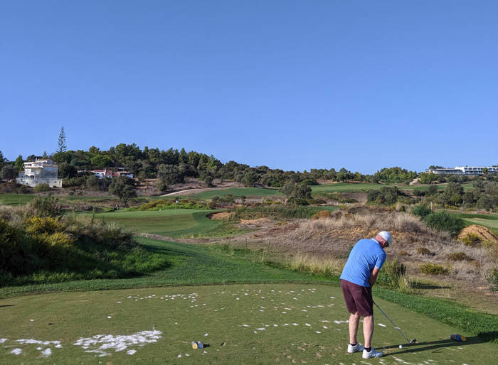 par three 26th hole at the palmares